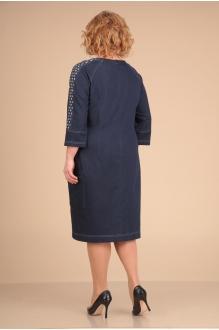 Повседневные платья VIOLA STYLE 0758 темно-синий фото 2