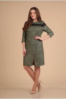 Повседневные платья VIOLA STYLE 0765 зеленый фото 2