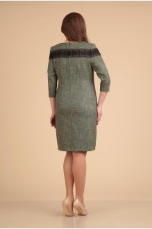 Повседневные платья VIOLA STYLE 0765 зеленый фото 3