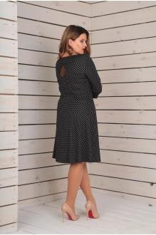 Повседневные платья VIOLA STYLE 0778 темно-коричневый фото 3