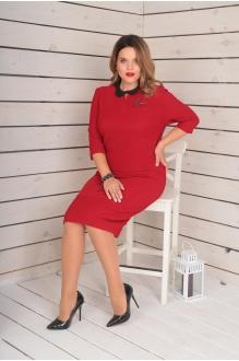 Повседневные платья VIOLA STYLE 0779 красный фото 2