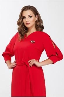 Повседневные платья Beautiful&Free 1401 красный фото 2