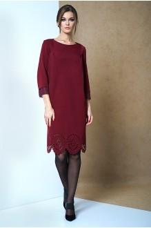 Повседневные платья Fantazia Mod 3262 бордо фото 1