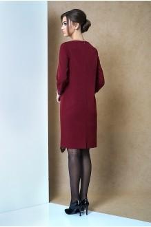 Повседневные платья Fantazia Mod 3262 бордо фото 3