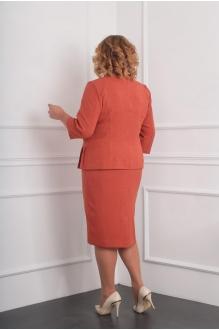 Юбочные костюмы /комплекты Milana 944 терракот фото 2