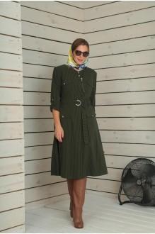 Повседневные платья VIOLA STYLE 0790 зеленый фото 1