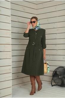 Повседневные платья VIOLA STYLE 0790 зеленый фото 2