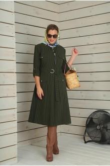 Повседневные платья VIOLA STYLE 0790 зеленый фото 3