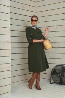 Повседневные платья VIOLA STYLE 0790 зеленый фото 4