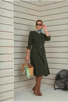 Повседневные платья VIOLA STYLE 0790 зеленый фото 5
