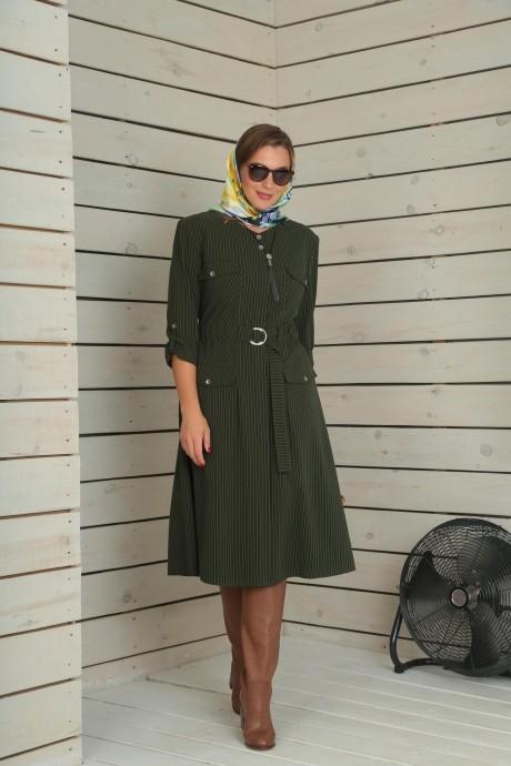 Повседневные платья VIOLA STYLE 0790 зеленый