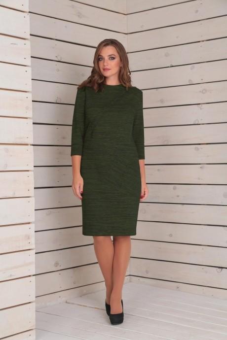 Повседневные платья VIOLA STYLE 0788 зеленый