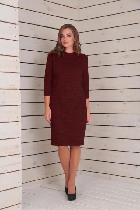 Повседневные платья VIOLA STYLE 0788 красный