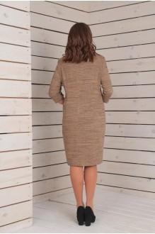 Повседневные платья VIOLA STYLE 0788 бежевый фото 3