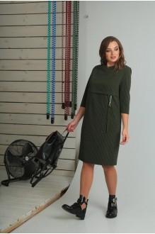 Повседневные платья VIOLA STYLE 0789 зеленый фото 2