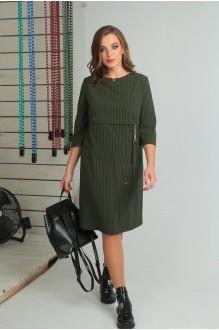 Повседневные платья VIOLA STYLE 0789 зеленый фото 4