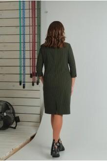 Повседневные платья VIOLA STYLE 0789 зеленый фото 5