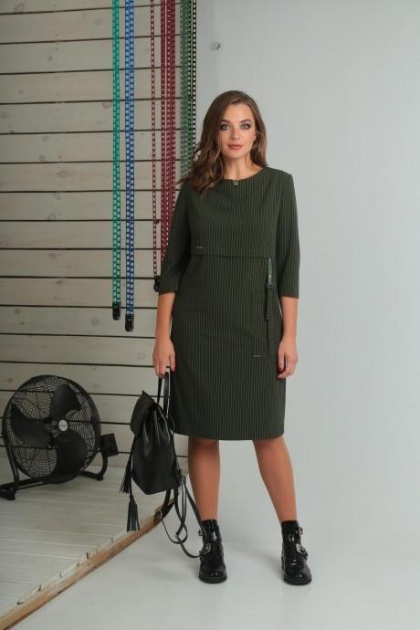 Повседневные платья VIOLA STYLE 0789 зеленый