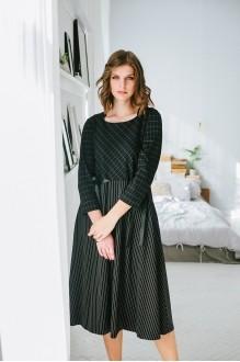 Повседневные платья Elletto 1596 чёрный фото 2