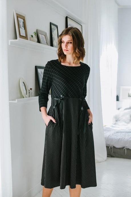 Повседневные платья Elletto 1596 чёрный