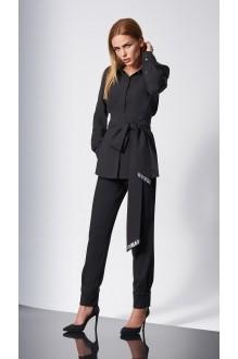Блузки и туники DiLiaFashion 0146 -1 чёрный фото 1