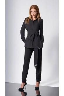 Блузки и туники DiLiaFashion 0146 -1 чёрный фото 2