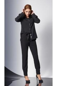 Блузки и туники DiLiaFashion 0144 -1 чёрный фото 2