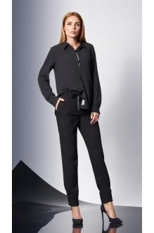 Блузки и туники DiLiaFashion 0144 -1 чёрный фото 3