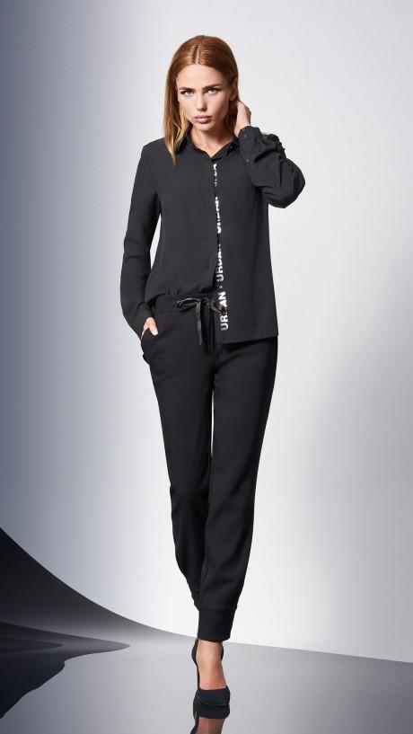 Блузки и туники DiLiaFashion 0144 -1 чёрный