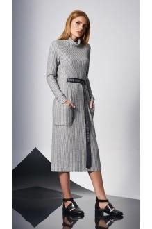 Повседневные платья DiLiaFashion 0140 -1 св.серый фото 2