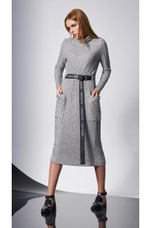 Повседневные платья DiLiaFashion 0140 -1 св.серый фото 3