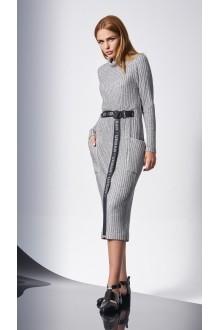 Повседневные платья DiLiaFashion 0140 -1 св.серый фото 4