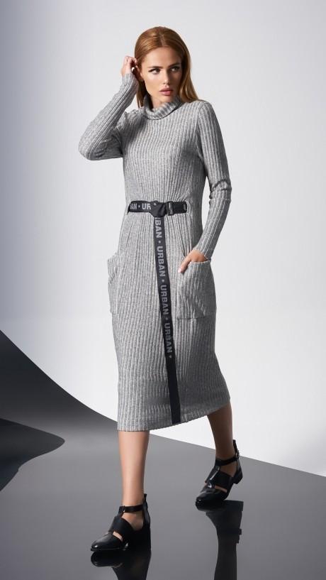 Повседневные платья DiLiaFashion 0140 -1 св.серый