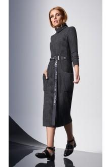 Повседневные платья DiLiaFashion 0140 -1 графит фото 2