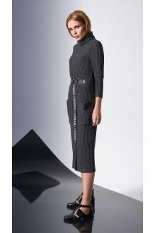 Повседневные платья DiLiaFashion 0140 -1 графит фото 3