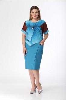 Летние платья *Распродажа Карина Делюкс 235 цветы фото 1