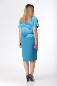 Летние платья *Распродажа Карина Делюкс 235 цветы фото 2
