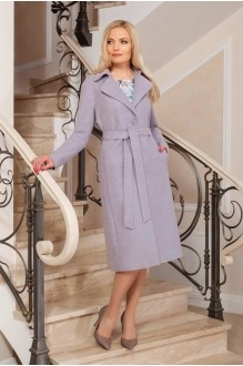 Azzara 513 лаванда (пальто+платье)