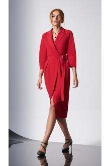 Вечерние платья DiLiaFashion 0161-2 красный фото 1