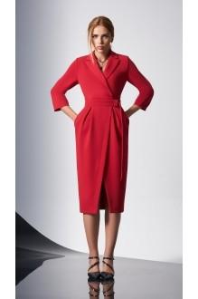 Вечерние платья DiLiaFashion 0161-2 красный фото 2