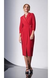 Вечерние платья DiLiaFashion 0161-2 красный фото 4