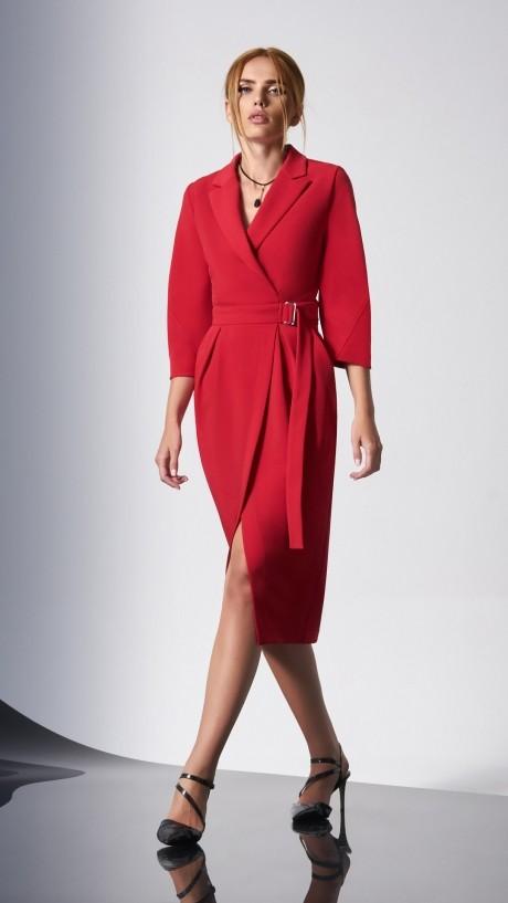Вечерние платья DiLiaFashion 0161-2 красный