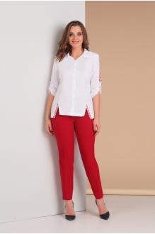 Милора Стиль 620 красный с белым