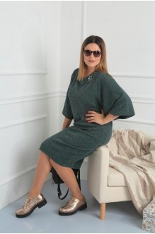 Повседневные платья VIOLA STYLE 0791 зеленый фото 2