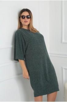 Повседневные платья VIOLA STYLE 0791 зеленый фото 3