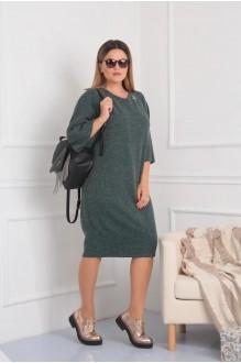 Повседневные платья VIOLA STYLE 0791 зеленый фото 5