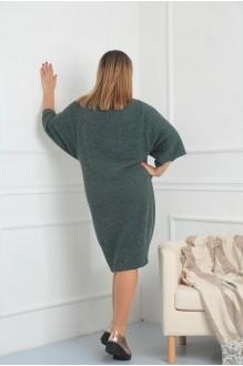 Повседневные платья VIOLA STYLE 0791 зеленый фото 6