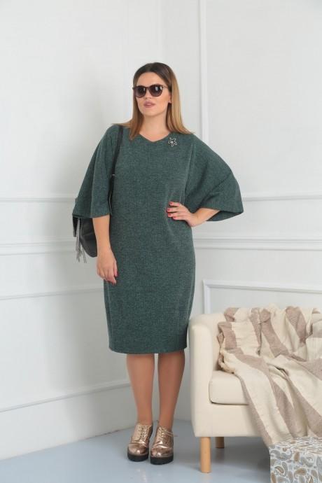 Повседневные платья VIOLA STYLE 0791 зеленый