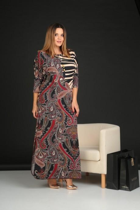 Длинные платья VIOLA STYLE 0795