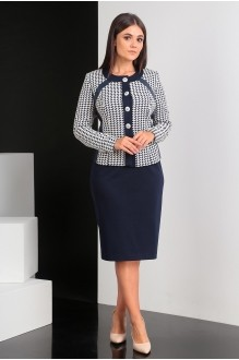 Мода-Юрс 2066 синий + белый